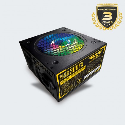 Armaggeddon Voltron Bronze 300FX Power Supply with 120mm Led Fan (300W)