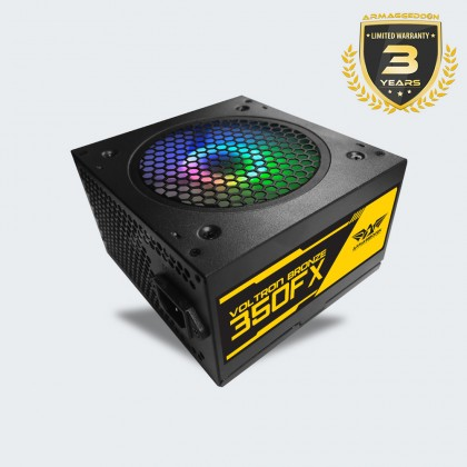 Armaggeddon Voltron Bronze 350FX Power Supply with 120mm LED Fan (362 Watts)
