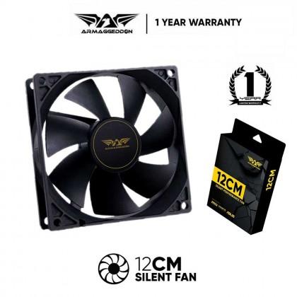 Armaggeddon Silent PC Cooling Fan   120MM / 140MM   1 Year Warranty